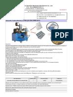 Automatic Packing machine for Mosquito Mat To Karim 20200217