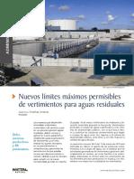 Decreto 0635 - Nuevos Límites Máximos Permisibles de Vertimientos Para Aguas Residuales