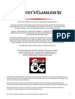 DiBastet's Classless 5e