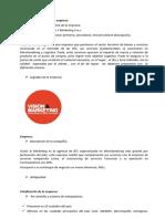 AVANCE  ENTREGA 2 SEMANA 5 TEORIA DE LAS ORGANIZACIONES