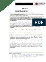 PRACTICA 7,  DICTAMEN PERICIAL PSICOLÓGICO I