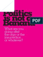 Politics is Not a Banana | The Journal of Vulgar Discourses