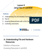 Lesson 9 -Accessing Files in LabVIEW