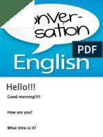Aula 1 Conversação Ingles