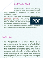 Assignment of Trade Mark (1)