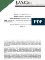 Resumen de la NORMA Oficial Mexicana NOM-004-SSA3-2012 Del expediente clínico.docx