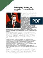 Reseña Federico González