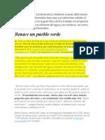 Este municipio de Cundinamarca mediante nuevas alternativas tecnológicas y ambientales hace que sus habitantes olviden el ruido de los fusiles de la guerrilla y ahora trabajen en proyectos de energía solar