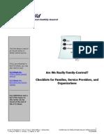 4 FCS 12 Prática centrada na Família check list