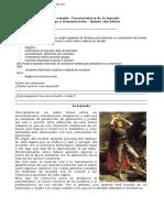 5° básico Caracteristicas leyenda - Remesa 7 - Lenguaje