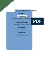 TAREA 5 DE EXPRESION CORPORAL Y PSI.