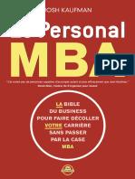 Le Personal MBA - KAUFMAN Josh.pdf