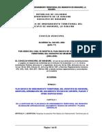 Plan básico de Ordenamiento Territorial (2002 - 2009)