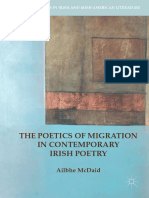 Ailbhe McDaid -  The Poetics of Migration in Contemporary Irish Poetry
