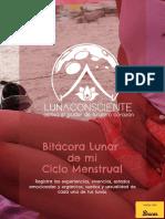 Luna Consciente Regalo Bitacora Lunar 2018