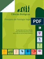Ciências Biológicas Princípios de Fisiologia Vegetal mendes lucena e medeiros