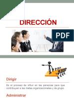CLASE DIRECCIÓN
