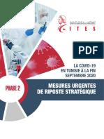 mesures urgentes ITES 2020