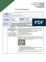 Plan de Actividades Para Realizar El Cuadernillo de Aprendizaje