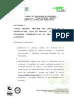 ACTIVIDAD # 1. ISO  22000 ALCANCE EL SISTEMA DE GESTIÓN DE LA INOCUIDAD ALIMENTARIA