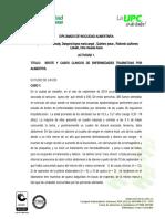 ACTIVIDAD 1.  ESTUIDO DE  BROTES Y CASOS DE ETA