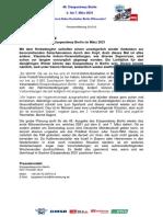 Eisspeedway Berlin 2021, Pressemitteilung 201013