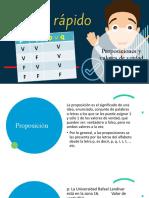 2.0-PROPOSICIONES Y VALORES DE VERDAD