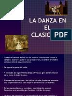 La danza en el clasicismo