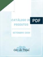 CATÁLOGO DE PRODUTOS CÉU DE PAPEL-SETEMBRO