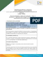 Guia de actividades y rúbrica de evaluación-Unidades 4-5-6-7- Paso 3- Escenario 1-Aplicación de la imagen y la narrativa como instrumentos de la acción psicosocial