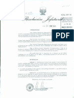 MODIFICAN INCISO C) DEL NUMERAL 7.4 DE DIRECTIVA Nº 004-2011-MESG-OGA-UPER