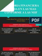 AUDITORIA FINANCIERA BASADA EN LAS NIAS CONFORME A