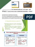 RESUMEN DEL ÁREA DE COMUNICACIÓN DIA 13 JULIO ---2DO