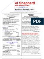 Newsletter Feb 1