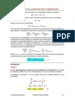Dependencia de H con la T