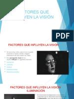6. FACTORES QUE INFLUYEN LA VISIÓN (1)
