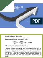 EQUAÇÃO DIFERENCIAL DE SEGUNDA ORDEM - Circuitos RLC - Final