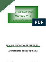 """""""AUTOCUIDADO EN LA PROFESIÓN DE ORIENTADOR LABORAL"""