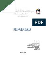 INFORME de REINGENIERIA