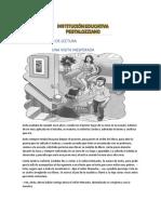 1.COMPRENSIÓN DE LECTURA GRADO 5