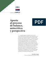 Aporte _de Fuerza Renovadora_al Proceso _de Autocrítica