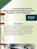 Lineamientos para la aplicación de la sujeción temporal.pptx