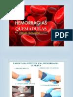 Ttaller de Hemorragias y Quemauras