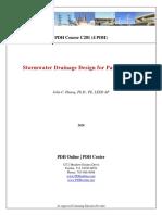 Carpark Drainage Design