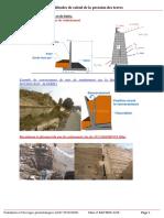 3.CHAPITRE I (suite)     Les méthodes de calcul de la pression des terres