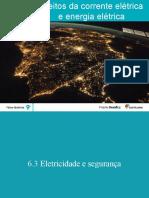 Eletricidade 6.3 Segurança