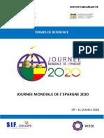 TDR JOURNEE MONDIALE DE  L'EPARGNE_2020