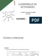 CUADERNILLO DE ACTIVIDADES maternal2 octubre-diciembre1
