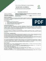 Programa Sintetico Mecanica Clasica