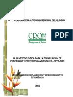GUIA METODOLOGICA BANCO DE PROYECTOS